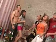 Provide Yourself with Sperm previous to Sexy Student Party
