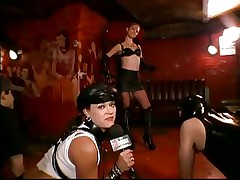 Do u like leather belts and chains? If u do then u probably love being dominated or to dominate. Sexcetera gives us a short peek of the bdsm world. Here everyone is having enjoyment and exploit their loved ones. The interviews this whore does are making things interesting but are we going to watch her punished?