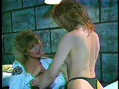 Here's a classic! The female guardian is in inspection, making sure her convict is behaving. She gives a decision to give that wench a treatment and licks her vagina while taking care of her own. Find out what those bitches are going to do in the prison cell and if they will have any horny visitors!