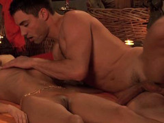 Sensual massage and tantric love making