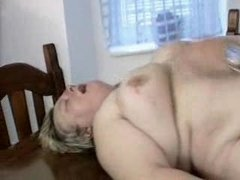 chubby german milf receives screwed