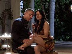 Drunk Brunette MILF India Summer Gets Screwed Doggy Style and Facialized