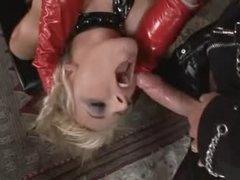 Kinky latex threesome with fantastic sluts